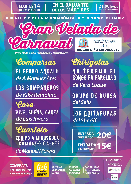 2018Asociación Velada De Carnaval Cádiz Gran Reyes Magos jMpqSVGzLU