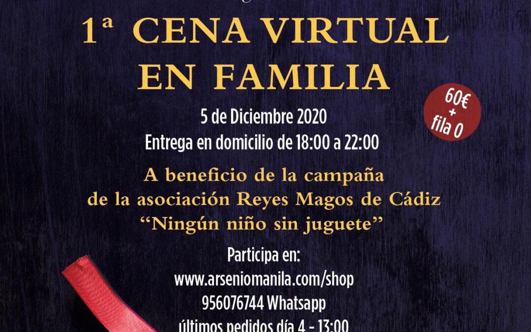 1ª Cena virtual en familia